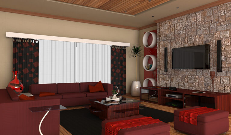 3D View of a Living Room: How It Helps Designers Present the Heart of the House Interior