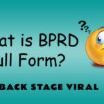 BPRD Full Form