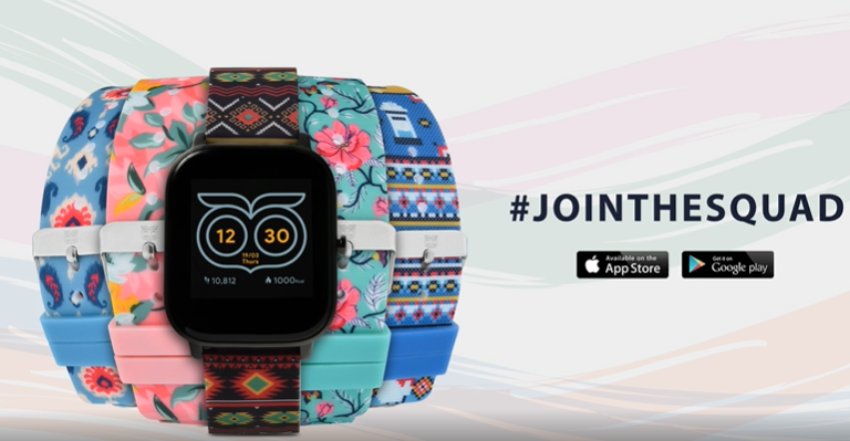 Hook on to the coolest smartwatch in the market – the Squad by Chumbak