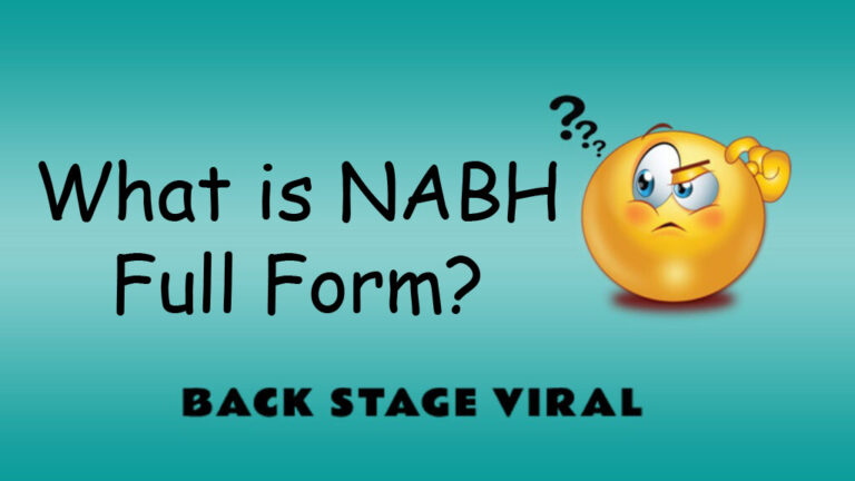NABH Full Form