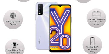 VIVO Y20 Price and specification