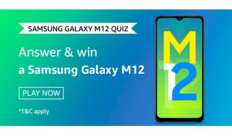 What Makes M12 the Monster Reloaded – Amazon Samsung Galaxy M12 Quiz